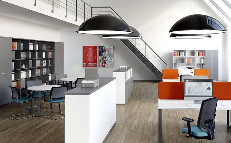 ארון משרדי- ספריות, מדפים וציפויי קיר