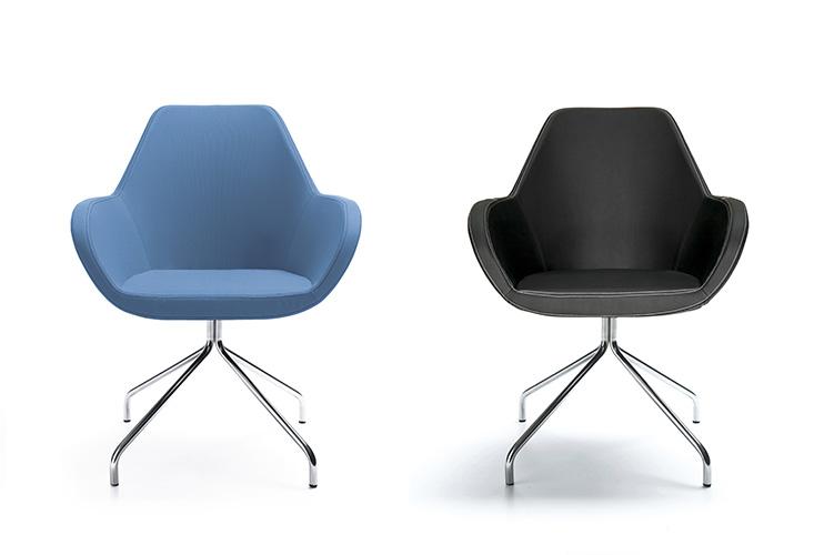 כסא לחדר ישיבות או כסא/כורסת/ספת המתנה או אורח Fan 10H | מס': 0501