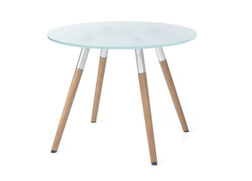 1Table6001 500x360 - שולחן המתנה- sw40 שולחן זכוכית עם רגלי עץ | מס': 6001