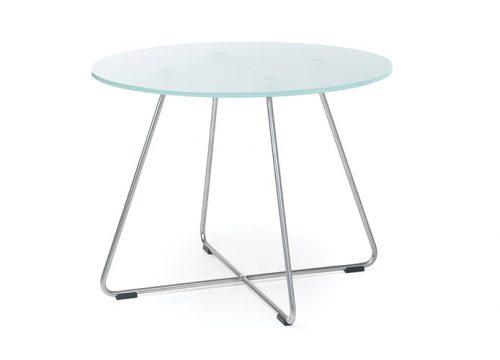 2Table6002 500x360 - שולחן המתנה- sv40 שולחן זכוכית רגליים מצטלבות | מס': 6002