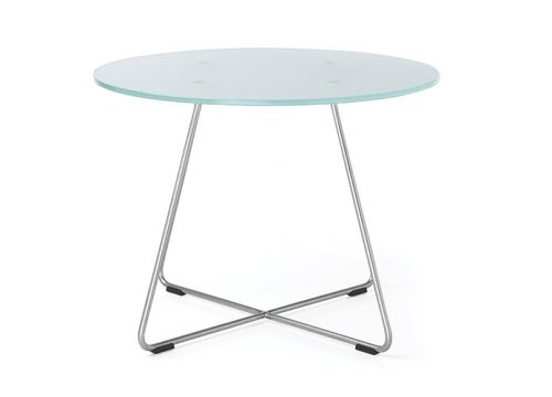 3Table6003 500x360 - שולחן המתנה- sv40 שולחן זכוכית רגליים מצטלבות | מס': 6003