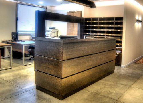 4Dalpak2204 500x360 - דלפק קבלה למשרד- דלפק בפורניר אלון מגוון וונגה | מס': 2204