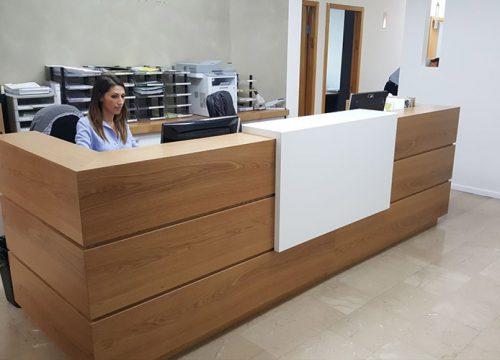 7Dalpak2207 500x360 - דלפק קבלה למשרד- דלפק בפורניר אלון אירופאי משולב אפוקסי | מס': 2207