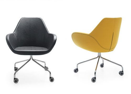 8Kise0608 500x360 - כסא לחדר ישיבות או כסא אורח Fan 10HC | מס: 0608
