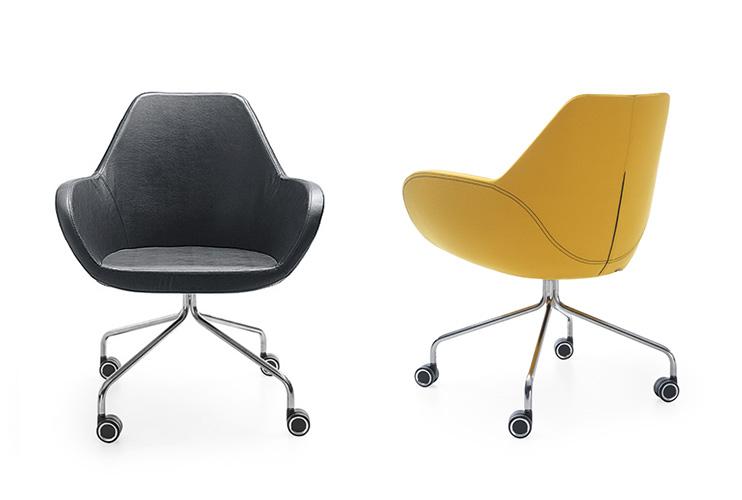 כסא לחדר ישיבות או כסא אורח Fan 10HC   מס: 0608