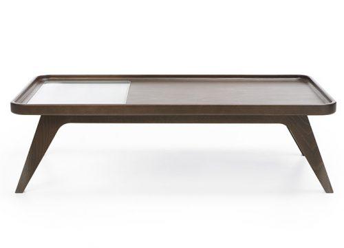 9Table6009 500x360 - שולחן המתנה -october s1 wood g1 שולחן המתנה משולב עץ עם זכוכית | מס': 6009