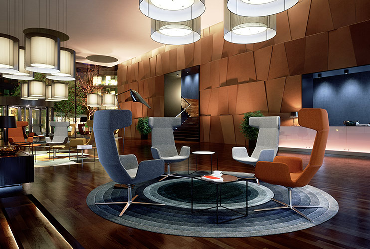 כורסא / כסא המתנה- FLEXI המתנה גבוה