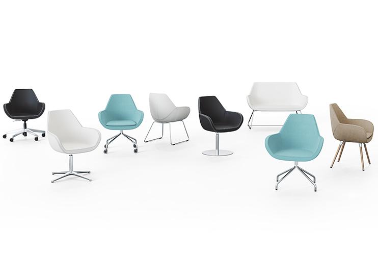 כיסא המתנה – FAN מגוון דגמי כיסא