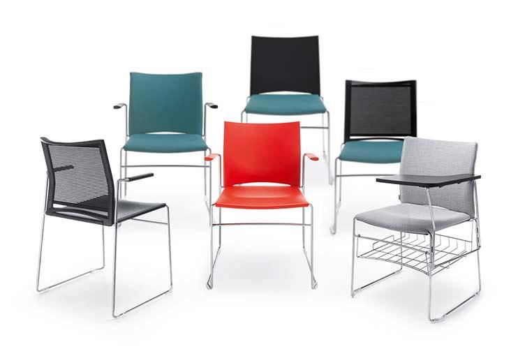 כסא קפיטריה או כסא השתלמויות ARIZ מגוון כסאות