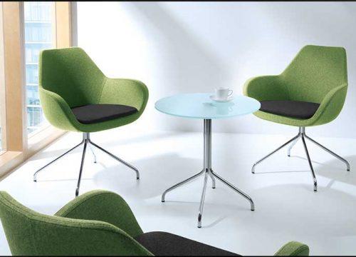 Hal35 500x360 - כסא המתנה- FAN פינת המתנה משולב שני צבעים ושולחן המתנה ברגליים תואמות