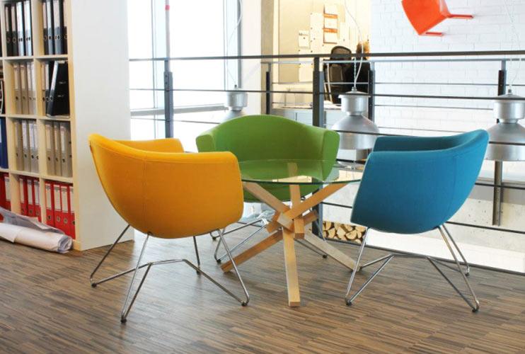 כסא המתנה – SORISSO פינת המתנה צבעונית כסאות