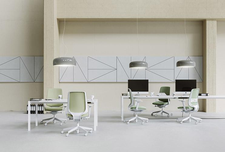 כסא עובד -lightup עמדות עבודה עם כסאות