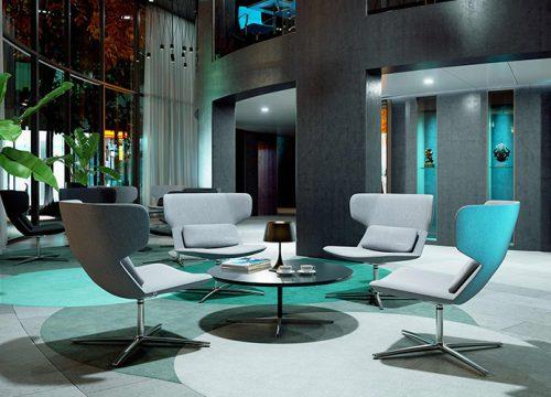 Hal7 500x360 - כסא / כורסת המתנה - Flexi המתנה גבוה