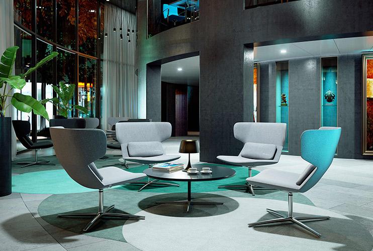 כסא / כורסת המתנה – Flexi המתנה גבוה