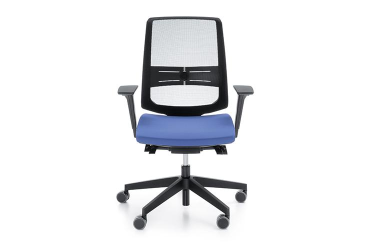 כסא משרדי- כסא עובד lightUP גב רשת | מס': 0102