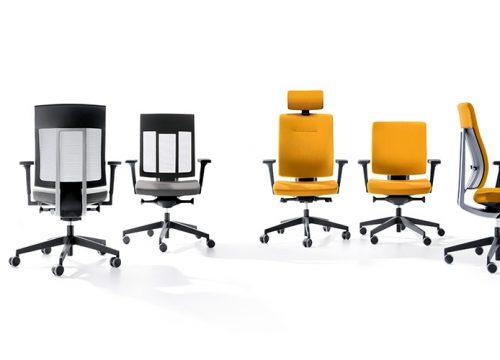 10Kise0110 500x360 - כסא משרדי - כסא עובד Xenon קולקציה | מס': 0110
