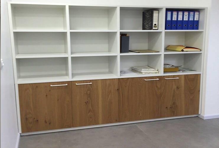 ארון משרדי- ספרייה בפורניר ואפוקסי | מס': 1111