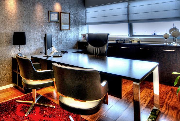 שולחן משרדי- STAR דגם פורניר וונגה | מס': 3011