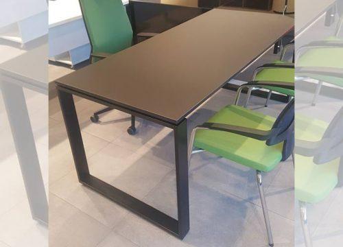 11Ovdim3111 500x360 - שולחן משרדי- NANO מערכת דגם חלון בפורמייקה | מס': 3111