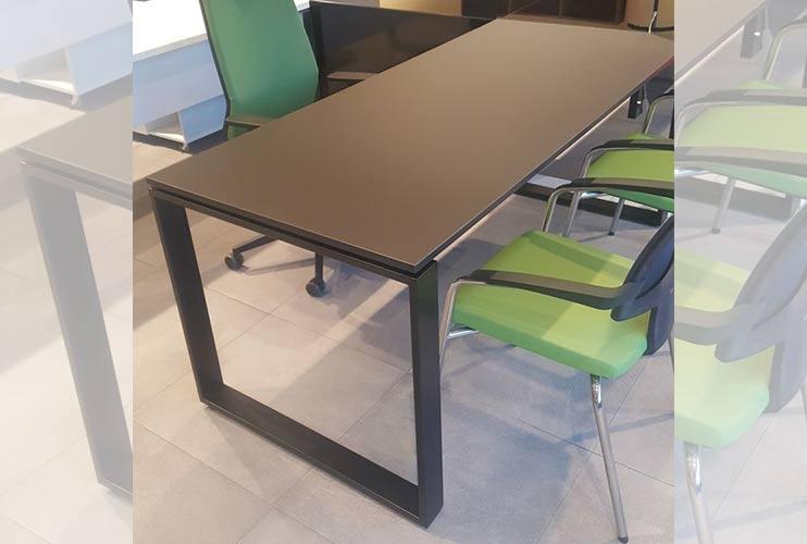 שולחן משרדי- NANO מערכת דגם חלון בפורמייקה | מס': 3111