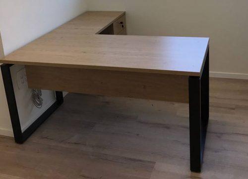 12Ovdim3112 500x360 - שולחן משרדי- מערכת דגם חלון | מס': 3112