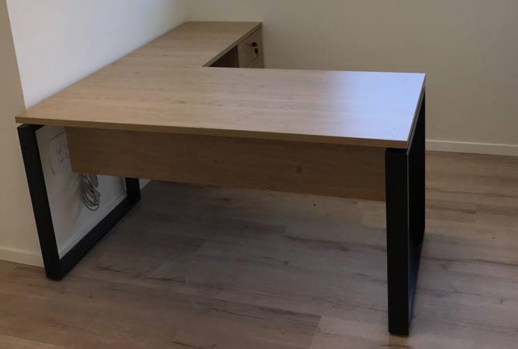 שולחן משרדי- מערכת דגם חלון | מס': 3112