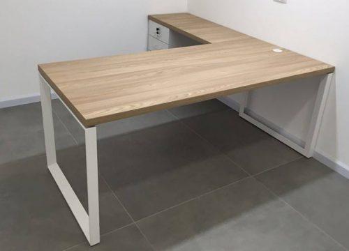 12Ovdim3112 2 500x360 - שולחן משרדי- STAR מערכת דגם בפורמייקה | מס': 3112