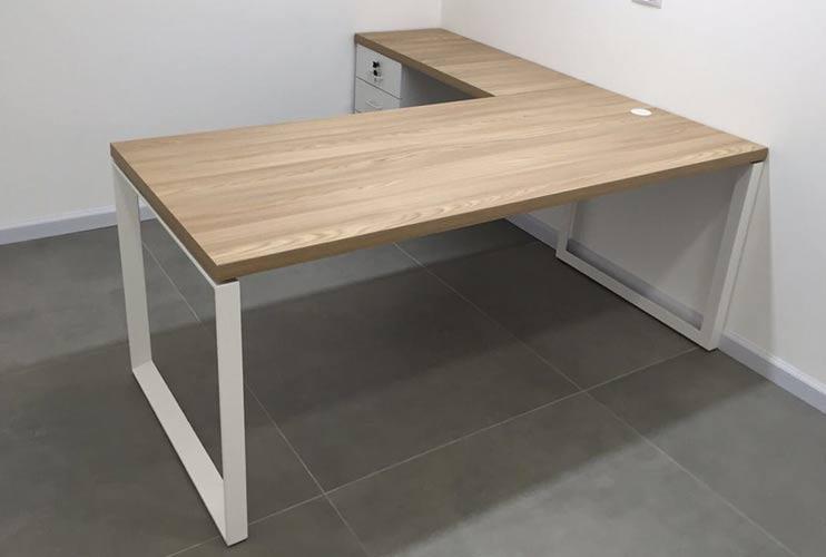 שולחן משרדי- STAR מערכת דגם בפורמייקה | מס': 3112