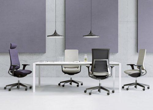 13Kise0113 500x360 - כסא עובד Violle קולקציה בגווני אפור   מס': 0113