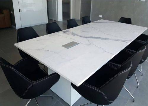 14BigTable3214 500x360 - שולחן לחדר ישיבות משיש | מס': 3214