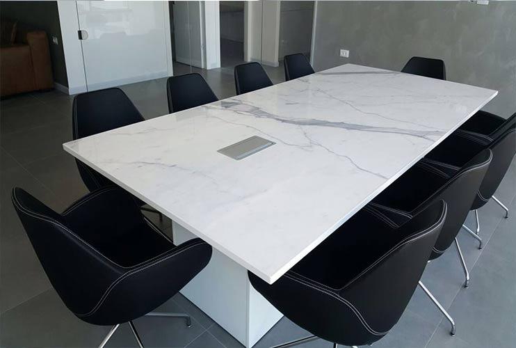 שולחן לחדר ישיבות משיש | מס': 3214