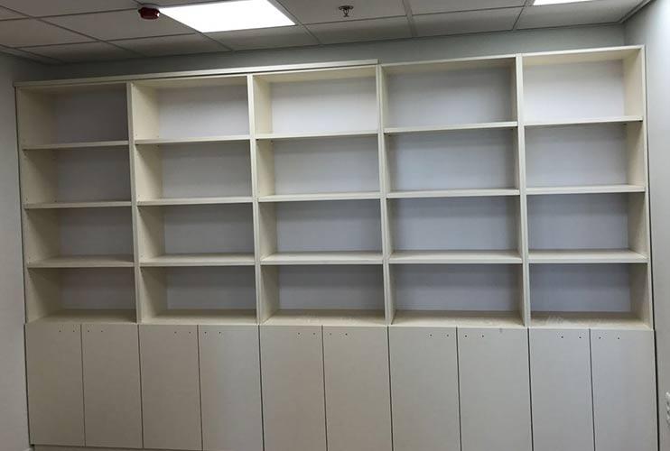 ארון משרדי- ספרייה בהתאמה לפי מידה | מס': 1116