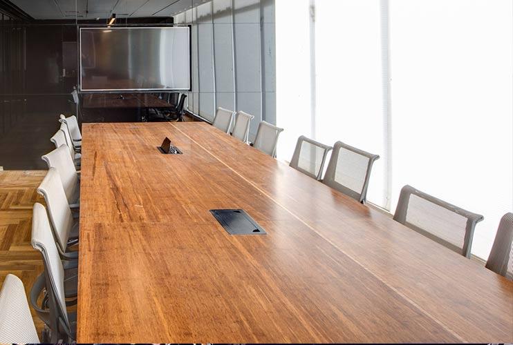 שולחן לחדר ישיבות גדול בפורניר | מס': 3201