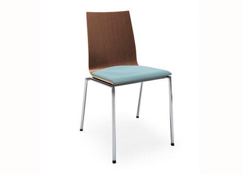 1Kise0201 500x360 - כסאות קפיטריה sensi k2h chrome | מס': 0201