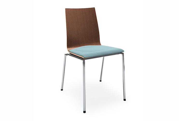 כסאות קפיטריה sensi k2h chrome | מס': 0201