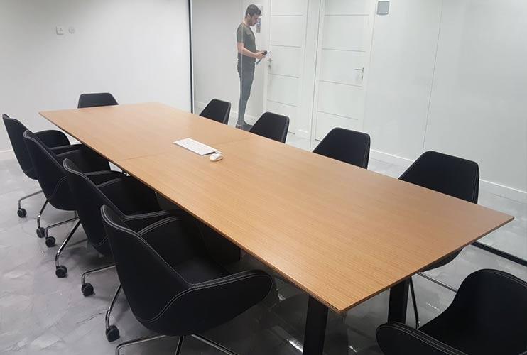 שולחן לחדר ישיבות בפורניר | מס': 3224