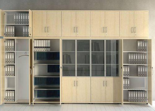 3Formaika1003 500x360 - ארון איחסון למשרד- ארון גבוה לקלסרים ותיקיות | מס': 1003