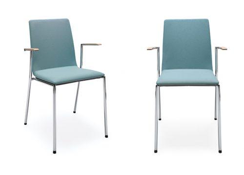 3Kise0203 500x360 - כסאות קפיטריה- sensi k4h chrome | מס': 0203