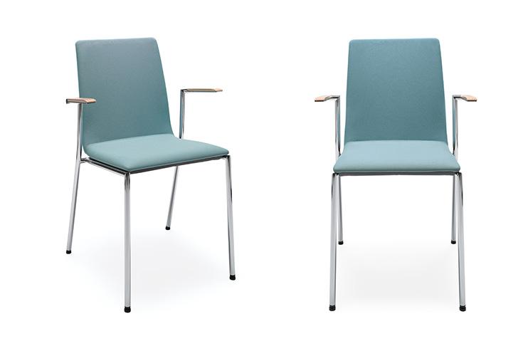 כסאות קפיטריה- sensi k4h chrome | מס': 0203
