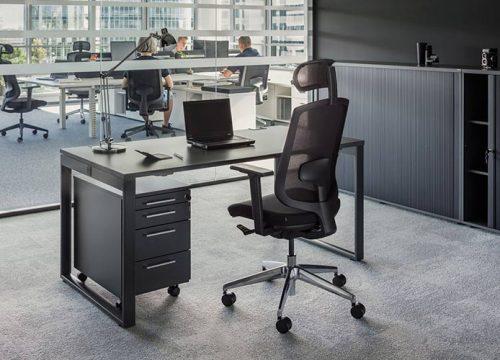 שלחן משרדי - מערכת דגם חלון