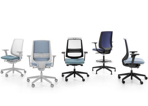 4Kise0104 500x360 - כסא משרדי- כסא עובד lightup קולקציה | מס': 0104