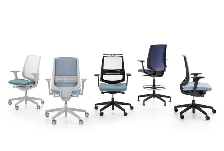 כסא משרדי- כסא עובד lightup קולקציה | מס': 0104