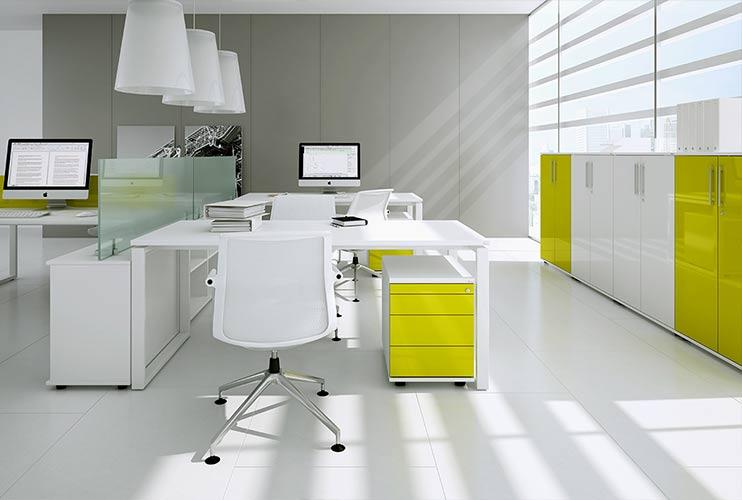 ארון איחסון למשרד- מגירות ארונות מדפים   מס': 1005
