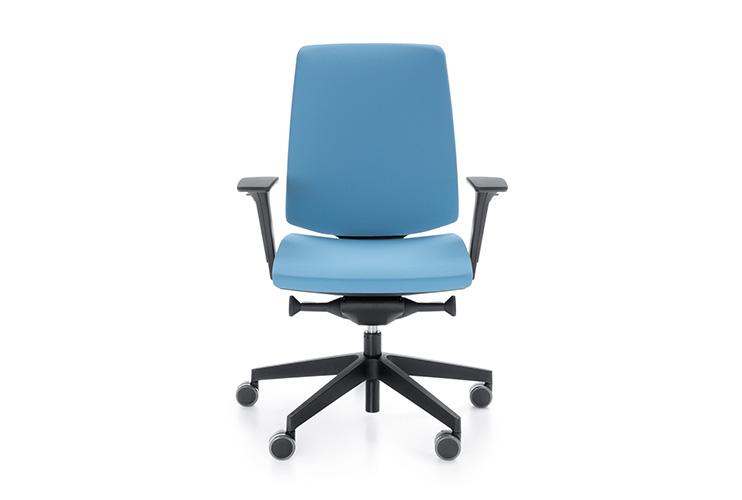כסא משרדי- כסא עובד lightUP גב בריפוד מלא   מס': 0105