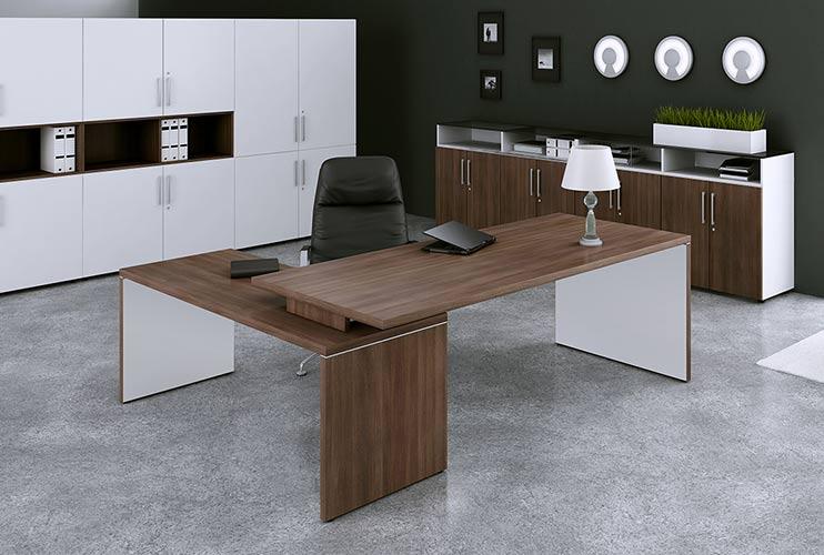 שולחן משרדי- TORIS דגם כהה | מס': 3005