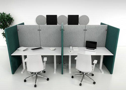 6Akysti4206 500x360 - מחיצות אקוסטיות- עמדות עבודה מחולקות בפרגודים אקוסטיים | מס': 4206