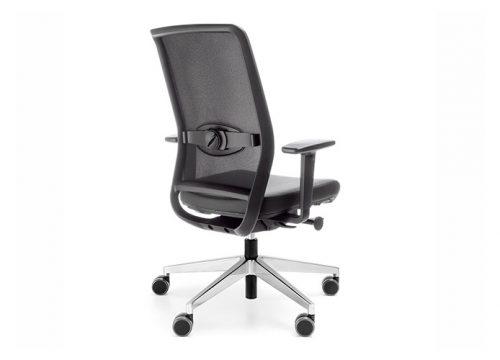 6Kise0106 500x360 - כסא משרדי- כסא עובד veris net chrome | מס': 0106