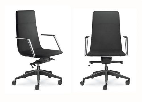 6Kise0605 500x360 - כסא לחדר ישיבות HarmonyPure 852-H BR820 | מס': 0405