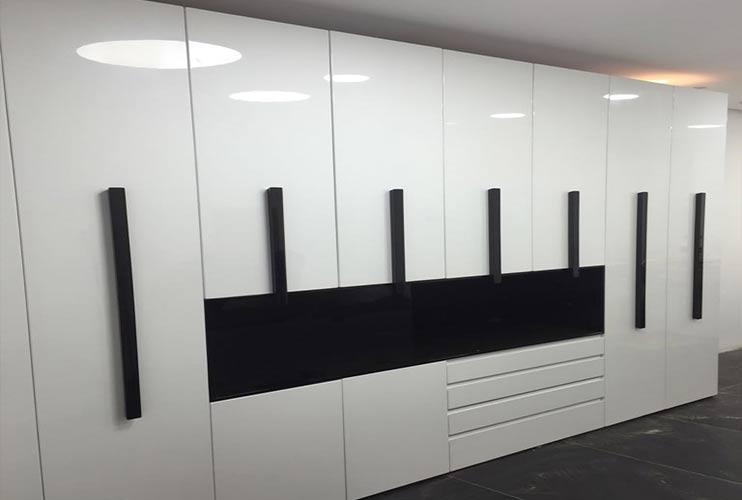 ארון איחסון למשרד- ארון בצבע פוקסי   מס': 1307