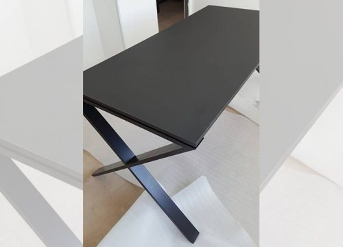 7Ovdim3107 500x360 - שולחן משרדי- מערכת דגם X | מס': 3107